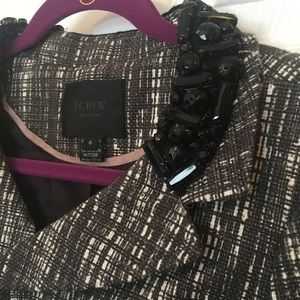 J. Crew Tweed Sequin Blazer